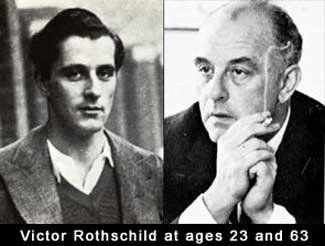 Victor Rothschild age 23 and 63 01