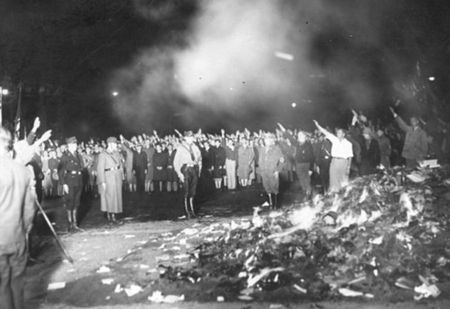 Nazis Book Burning 01