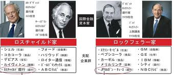 Rothschild VS Rockefeller 01