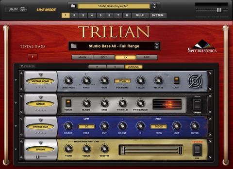 Trilian Effects