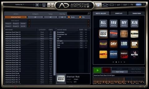 AD2 Beatsページ