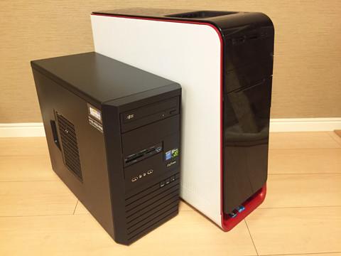 Raytrek-V MXとDELL XPS STUDIO 9100