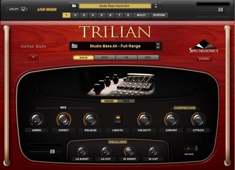 Trilian メイン画面