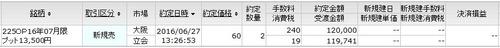P13500新規売り