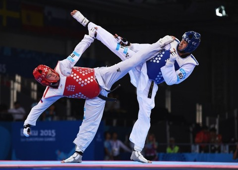 Taekwondo-Competitors