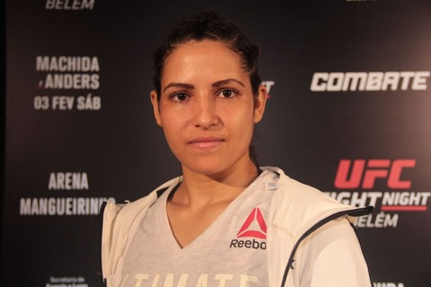 女子UFCファイターのポリアナ・ヴィアナさん 強盗に遭うも返り討ちにしてしまう