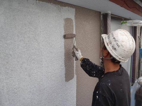 20120625外壁塗装W様邸外壁中塗りP6251199-s