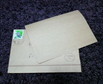 奥田さん手紙