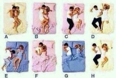 おまえらが彼女と寝る時の体勢wwwwww