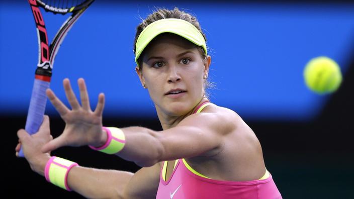 シモナ・ハレプ、ユージェニー・ブシャールが一回戦で敗退! : テニス ...