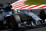 日本GP 金曜FP1 ルイス・ハミルトン(メルセデスW05)