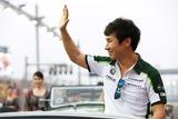日本GPへの参戦が正式に決まった小林可夢偉