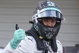 2014 F1第15戦日本GP 公式予選 ニコ・ロズベルグ(メルセデス)
