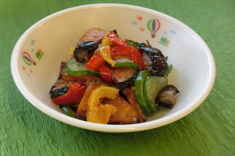 夏野菜のサラダCIMG7045