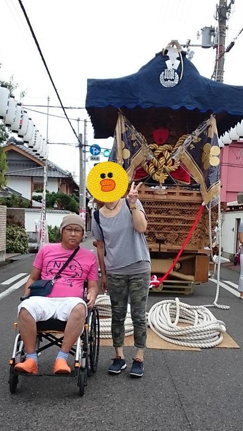 岸和田祭も終わって