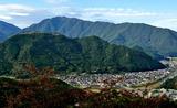 14----立雲峡よりの和田山城2