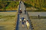 11.11----夕方の流れ橋