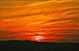 6.04----日没時の夕焼雲