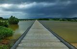 08----流れ橋増水1