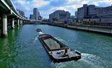 21---堂島川の艀