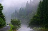 19----川霧立つ針畑川