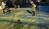13---京橋駅前朝の光