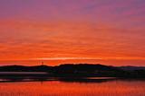 6.07----日没後の夕焼け