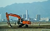 14---空港島の工事現場