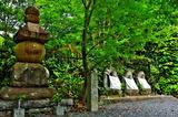 6.06----善方律寺の五輪の石塔と石仏