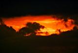 5.27----雲間から見えた夕焼けぐ