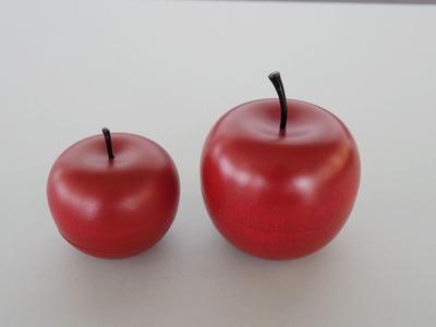 りんごと大きいりんご