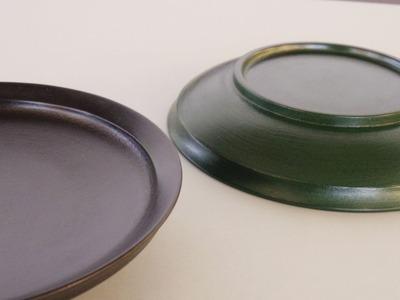 蒔地6寸浅鉢