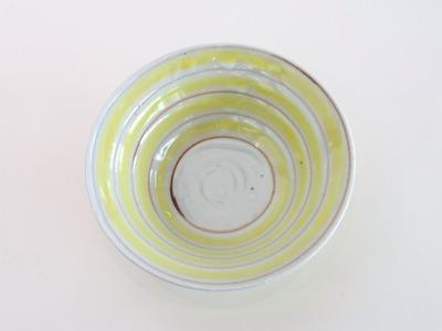黄サビコマ碗