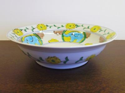 9寸リム鉢 横