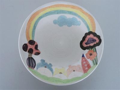 №2カレー皿(くま)