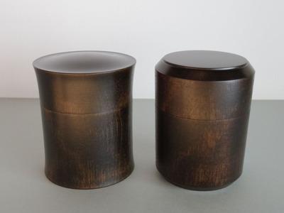 42茶筒(大・黒)