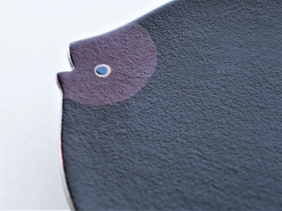 奥の お魚豆皿(紫) (4)
