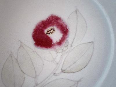 椿皿アップ