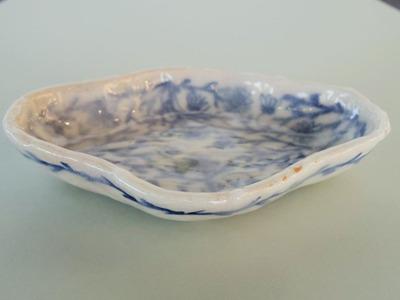 木瓜形皿 横