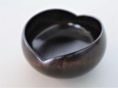 奥の 笑豆々鉢(黒)