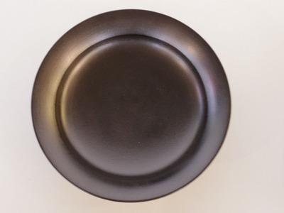 蒔地6寸鉢(黒)
