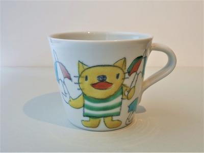オーレマグカップ アニマルかさもよう