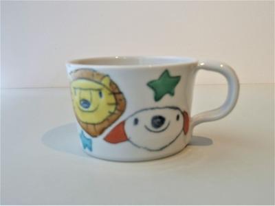 ミニマグカップ(ストレート)みんなおともだち