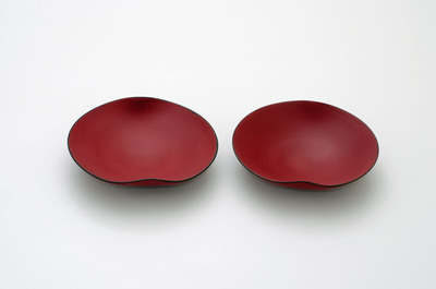 猩々緋浅鉢