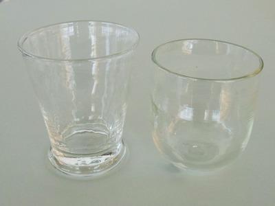 ヘアラインロックグラス