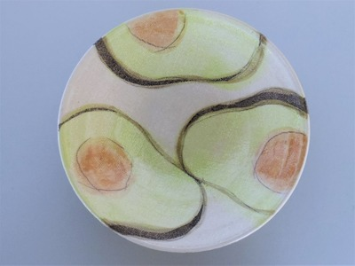 アボカド 皿