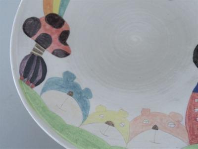 №2カレー皿(くま)アップ