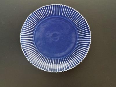 ルリしのぎ7寸皿