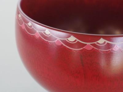 64まるスープカップ(赤)