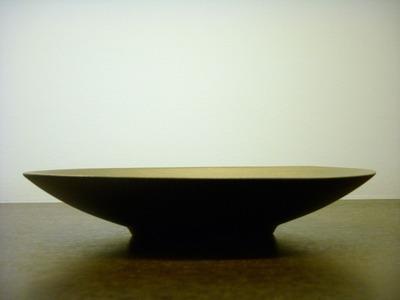 プラチナ皿 横